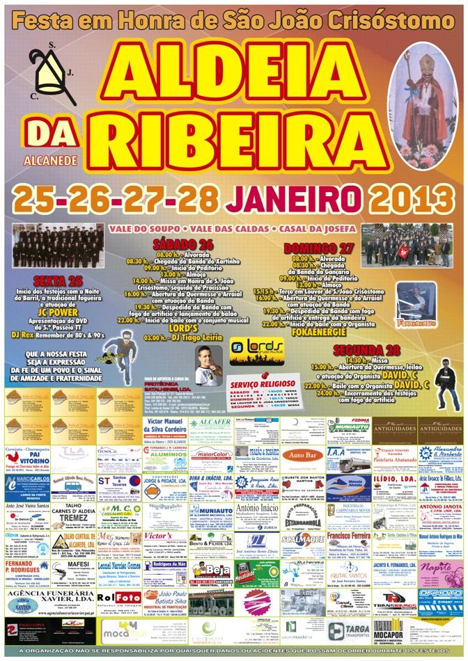 Cartaz ARibeira 2013