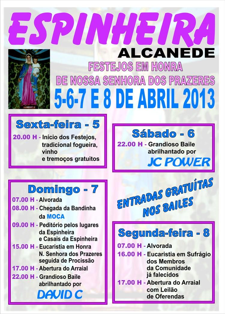 Cartaz Festa Espinheira2013