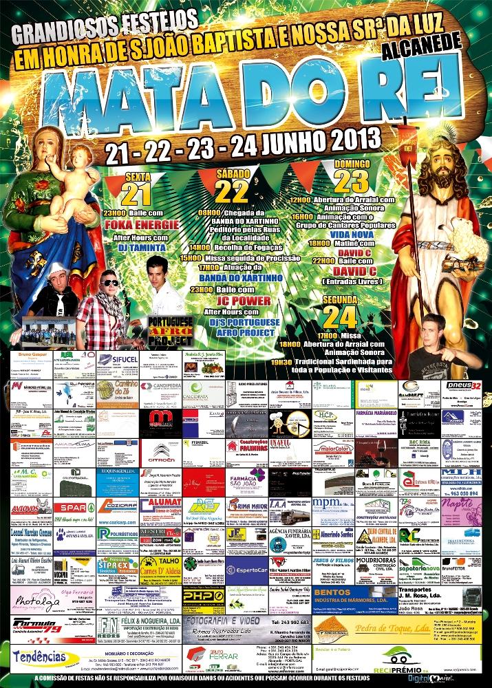 Cartaz MatadoRei 2013