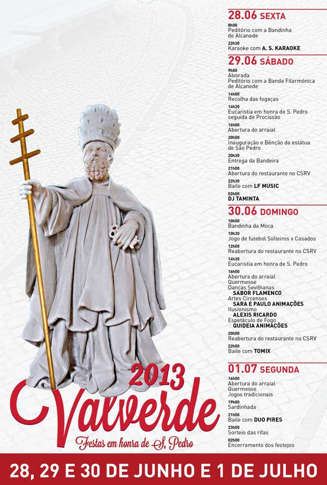 Cartaz SP Valverde2013