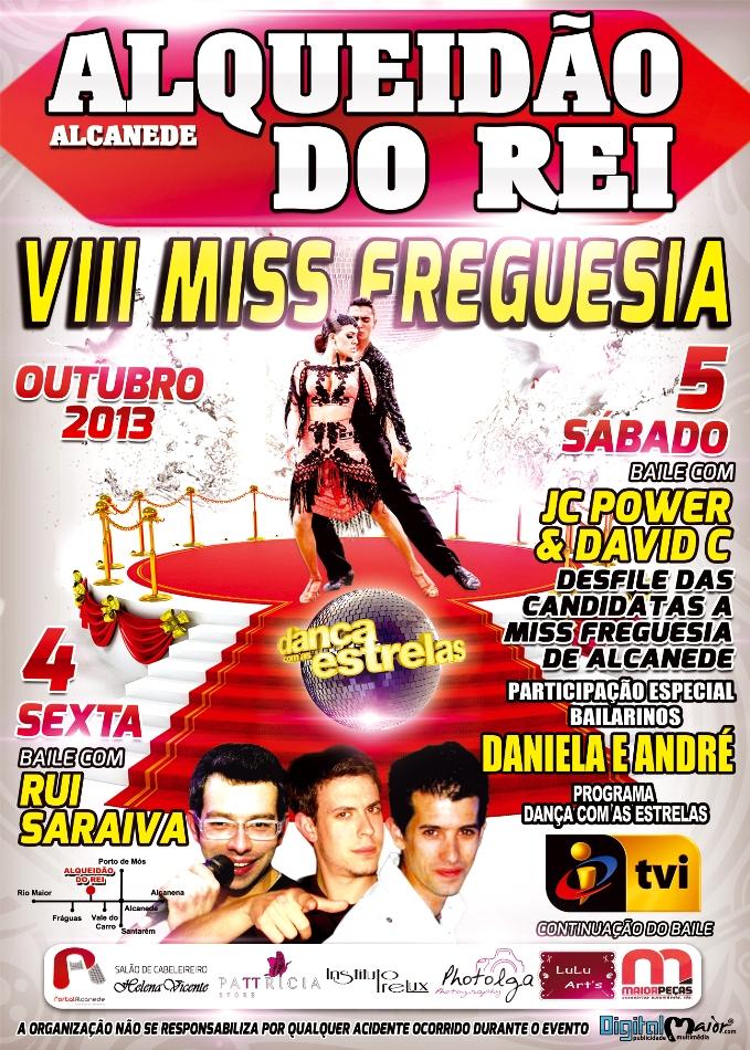 Cartaz Miss Freguesia 2013