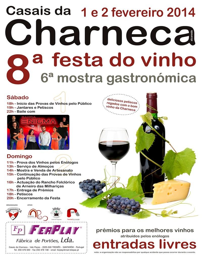 Cartaz Festa do Vinho 2014 noticia