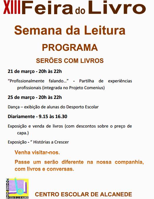 programa semana leitura portal