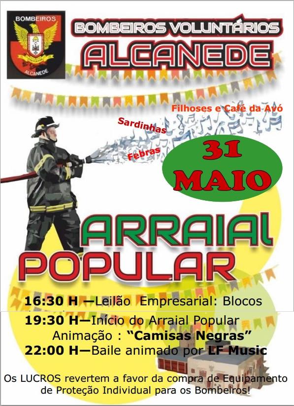 cartaz arraial 2014