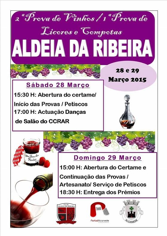 cartaz 2 prova vinhos