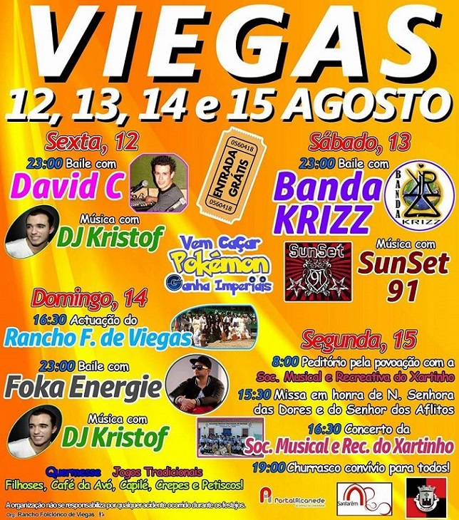 cartaz festa viegas 2016