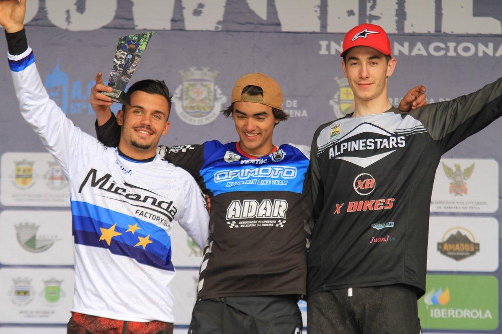 DHI 2018 nr4 Podio Juniores Tomas Barreiros